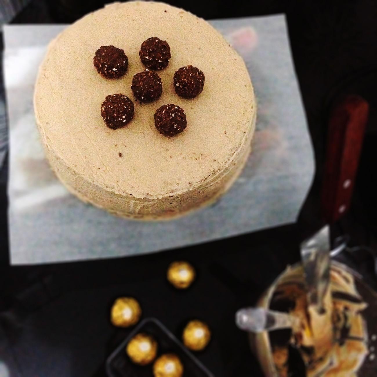 Торт Ferrero рецепт