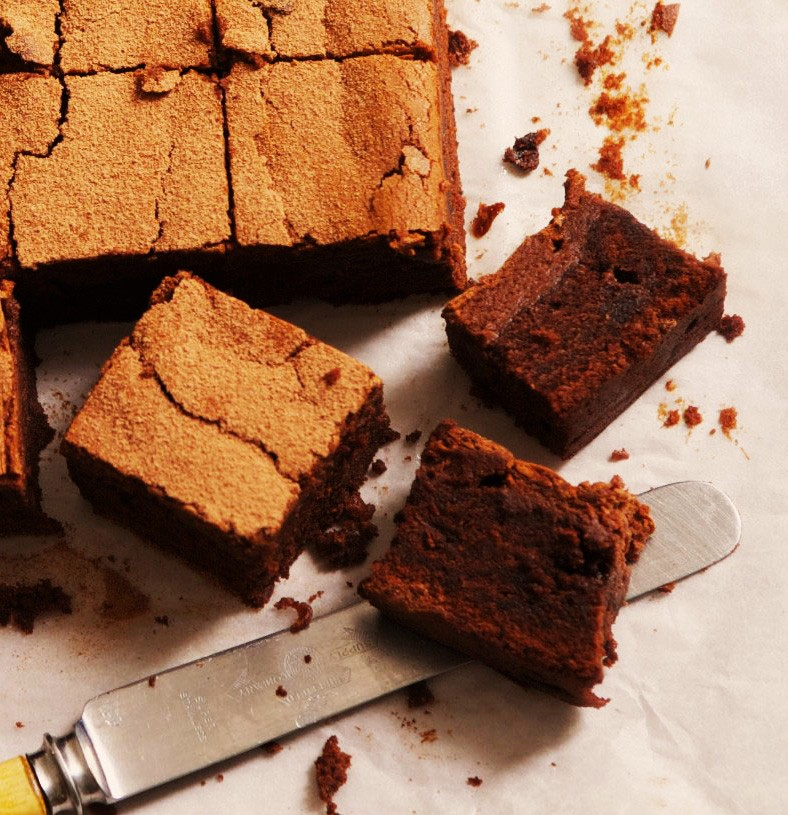 Browne - total chocolate. The easiest recipe