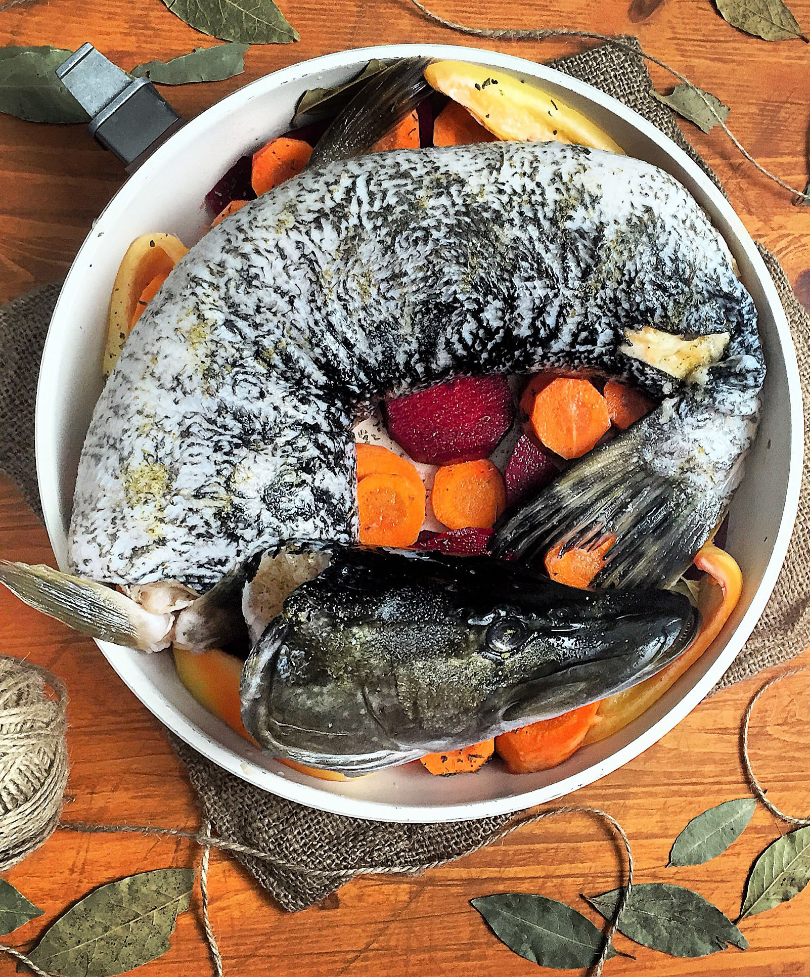what to prepare for the new year: stuffed pike