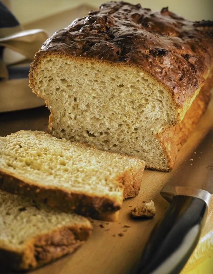 Dietary bread from psyllium