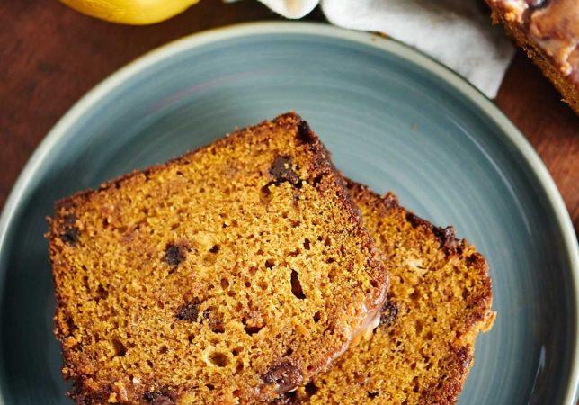 American pumpkin cake (pumpkin bread)